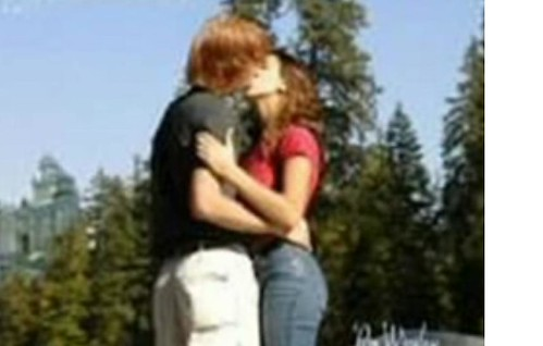 hermione and ron kiss