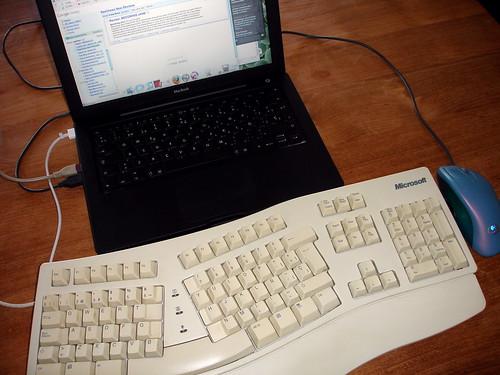 MacBook y teclado