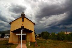 San Jose Church (jwoodphoto) Tags: storm newmexico church religious catholic sanjose backroad jwoodphoto