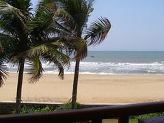 Mamalapuram beach at temple bay (pallav moitra) Tags: beach temple tamil nadu kanchipuram mamalapuram