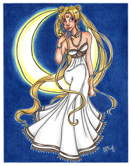 princess-serenity-color (miss_skittlekitty) Tags: ladies girls anime cute art ink portraits magazine watercolor hair fun artwork women colorful princess traditional evil illustrations drawings curls queens fairy fantasy dresses kawaii mucha doodles nouveau sketches storybook markers fashiondesign microns characterdesign fashionillustration catcraig cuntculture femalecentric