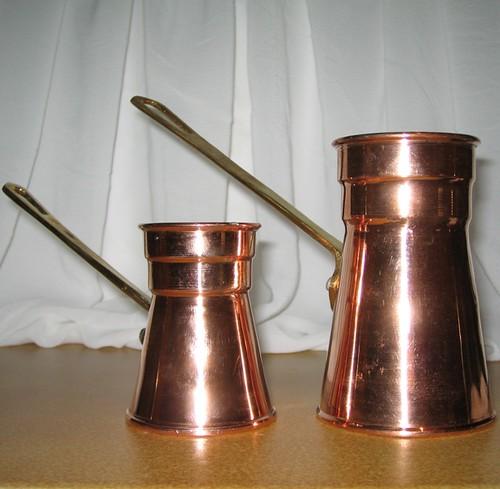 Copper Turkish Coffee Maker Pots