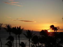 Sunset from Kaanapali Hyatt