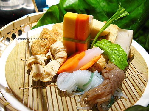 齊民有機中國火鍋 蔬菜鍋內容