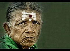 The Texture of Time (rAmmoRRison) Tags: portrait woman india face rural asia time nikond70s elderly age wise wrinkles nikonstunninggallery rammorrison theperfectphotographer bsbskin spiritualbeing pcatextures