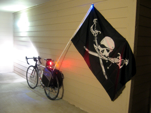 Noah's pirate flag