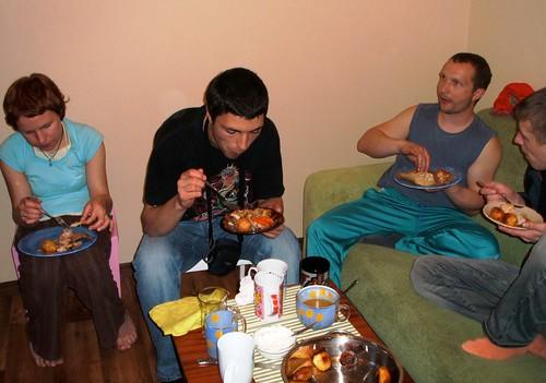 roast dinner for...many! ©  marktristan