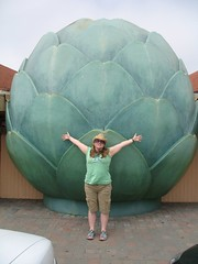 Castroville is the artichoke capital of the WORLD