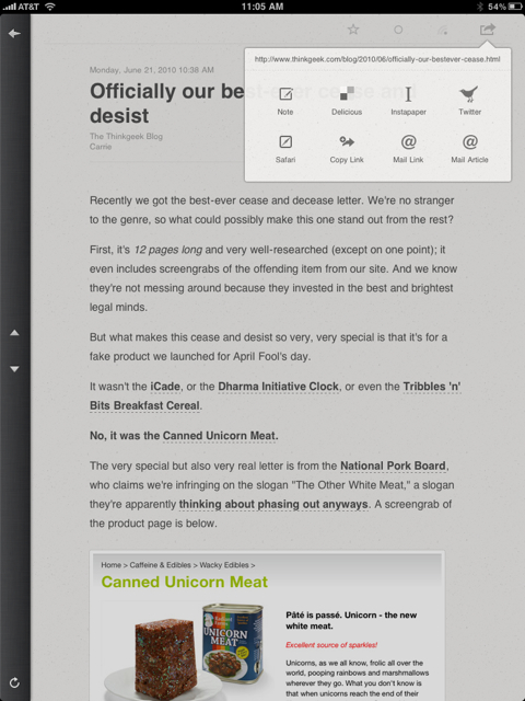 Review: Reeder for iPad 4720702739 e0778c2919 o