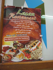 lasan restaurant broschure