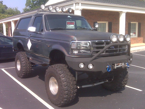 Lifted Ford Bronco