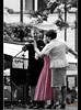 Gesture (immi60) Tags: pink people concert blind budapest everydaylife koncert blindness vak streetphotograpy rózsaszín sonya200 vakság