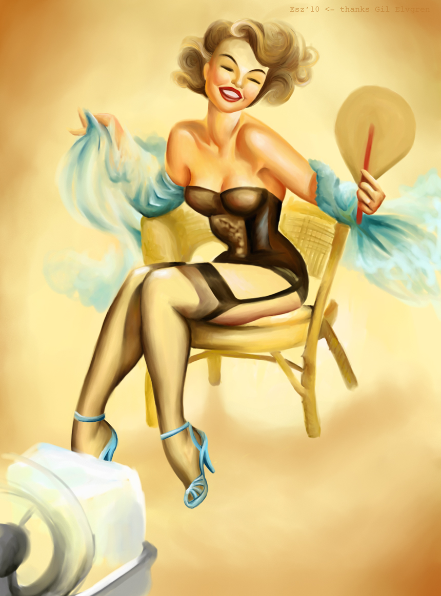 fan pinup