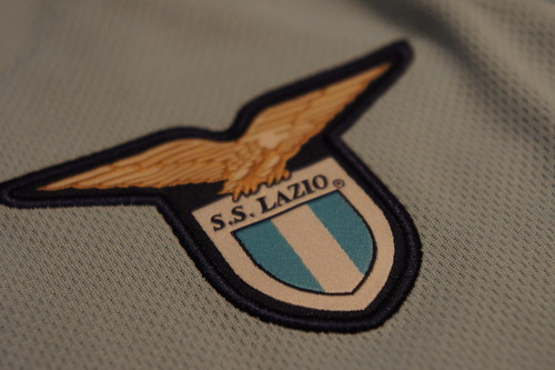 10-11 Lazio Home SS Hernanes 8 Club Badge