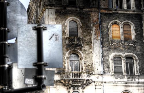 Bulding at Andrassy Avenue. Budapest. Edificio de la avenida Andrassy