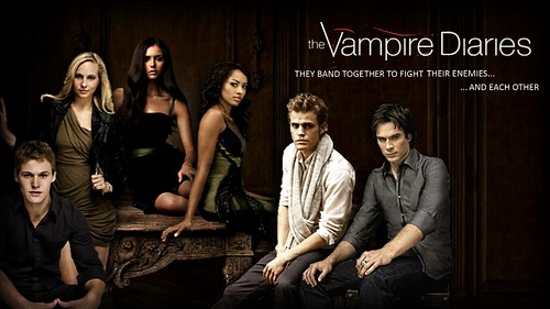 "Vampire Diaries ""Fight Each Other"" Wallpaper"