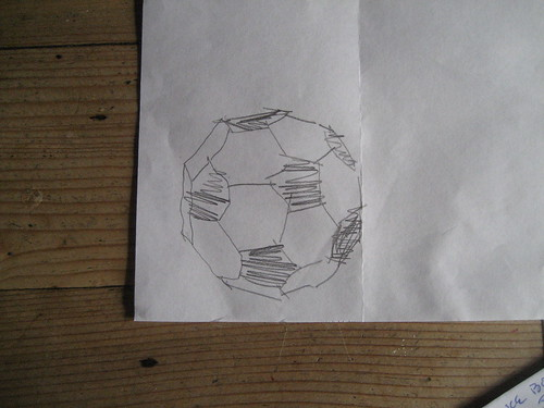 Soccer Ball Geometry Sketch