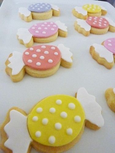 polka dot candy cookies!