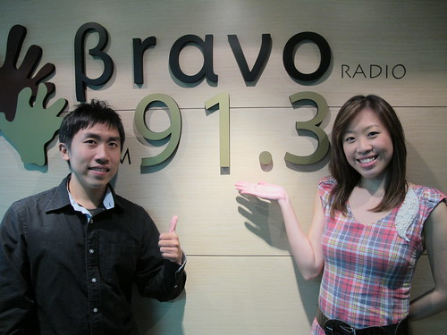 With DJ Kevin