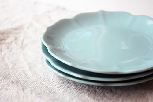vintage lotus plates