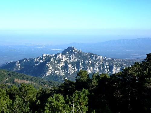 Vistas hacia el Castillo de l'Airosa