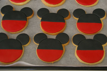 Galletas Mickey & Minnie Mouse