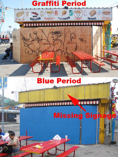 Graffiti-Blue Period