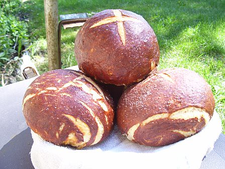 Signature Pretzel Bread « Two Bites in Suburbia