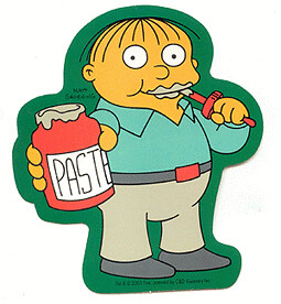 ralph wiggum paste simpsons