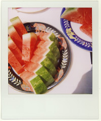 Watermelon - Mildred Pierce Restaurant - by Charlyn W
