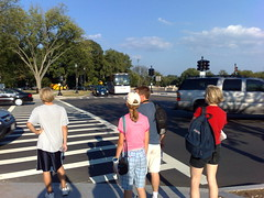 Pedestrian Crosswalk @ Lincoln Memorial