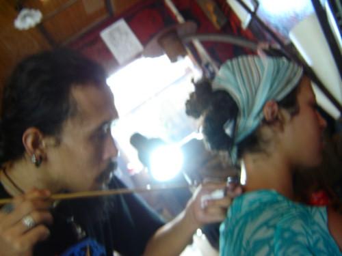Koh Phangan, Thailand Bamboo tattoos