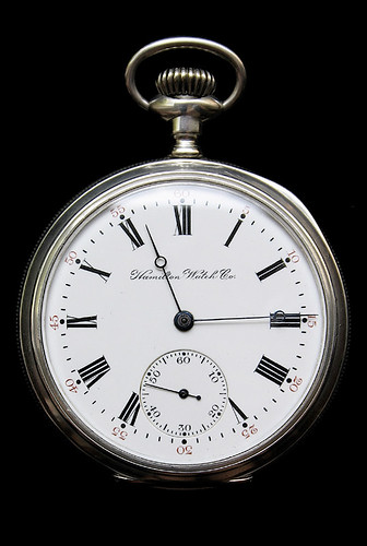 Hamilton 968 dial