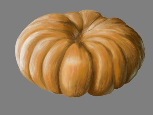 Pumpkin Painting (unfinished)