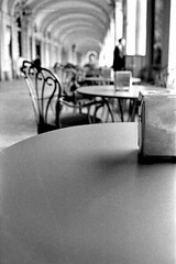 Old Caf (About a Majordomo) Tags: old bw white black torino perfect photographer perspective 400 hp5 turin bianco antico caff nero biancoenero aperitivo caf vecchio the bwemotions 25faves diecicento bnvitadistrada bncitt aplusphoto tcnsalotto percorsiurbaniof