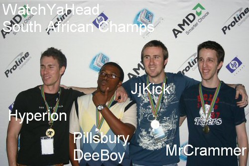 WatchYaHead - Gears of War South African Champions