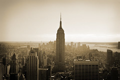 New York City (noamgalai) Tags: new york city nyc sky urban blackandwhite bw ny newyork building buildings photography photo downtown view state picture rockefellercenter center photograph esb empire empirestatebuilding rockefeller topoftherock allrightsreserved   photomania  noamg noamgalai   wwwnoamgalaicom sitelandscapes