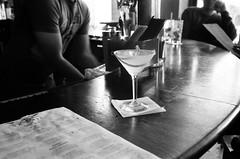 Orbit Room Cocktail   San Francisco (ldandersen) Tags: sanfrancisco california leica blackandwhite bar 35mm cocktail bayarea orbitroom