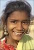 Rajastani girl (bjornra) Tags: portrait india smile rajastan noseringthefeminine