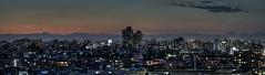 Tokyo 383 (tokyoform) Tags: city sunset urban japan skyline buildings 350d japanese tokyo asia cityscape ciudad tquio stadt   japo japon ville tokio stadtbild paisajeurbano minamisenju lowrise japn    japonya nhtbn paysageurbain jongkind       shinkoiwa     chrisjongkind  tokyoform