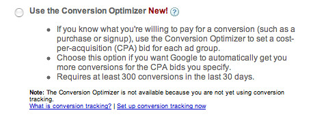 The Adwords Conversion Optimiser Algorithm Explained
