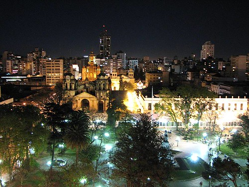 Plaza San Martín, Córdoba por morrissey