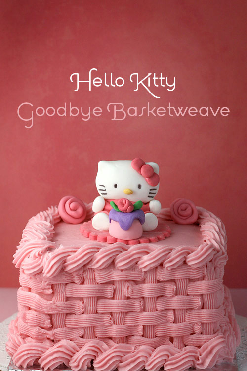 Hello Kitty Goodbye Basketweave Bakerella Com