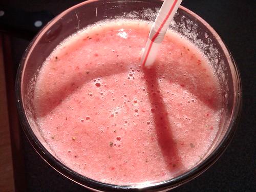 Strawberry Watermelon Juice