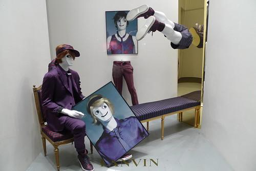 Vitrines Lanvin -Paris, juin 2010