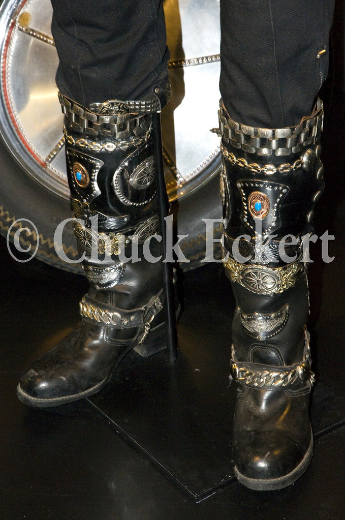 Custom Motorcycle Boots