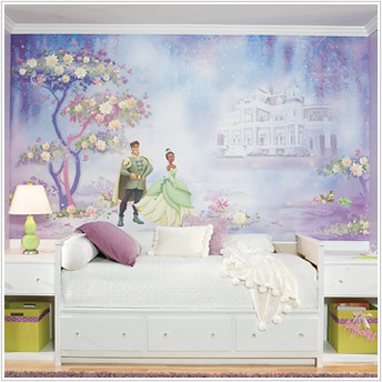 princess and frog wallpaper decals