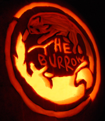 Burrow Pumpkin!