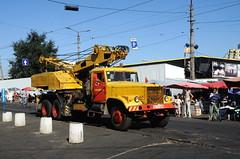 HARBOUR OF ODESSA (Claude  BARUTEL) Tags: port truck harbour transport odessa ukraine container trucking odesa