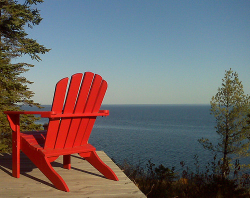 red-chair